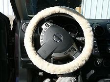 Sheepskin Steering Wheel Cover Covers - Honey