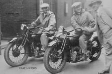 Indian '4' 401 Four introduction ride Springfield Mass. 1928 - motorcycle photo