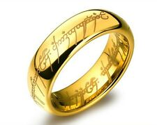 "Bilbo's Hobbit Lord of The Rings Ring ""The One Ring"" Plus Chain"