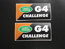 LAND ROVER DEFENDER DISCOVERY Aftermarket G4 Challenge Sticker kit wing decals
