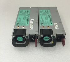 Lot of 2! HP Proliant 498152-001 438203-001 HSTNS-PL11 1200W Power Supply