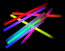 "20x 12"" Mega Glowsticks - Mixed Glow Batons Sticks (15mm) Glowtopia Festivals"
