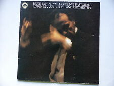 BEETHOVEN Symphonie 6 Pastorale LORIN MAAZEL Cleveland Orch CBS 7627