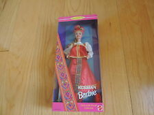 Mattel Barbie Doll Russian Dolls of the World 16500 NRFB RUSSIA (ba017)