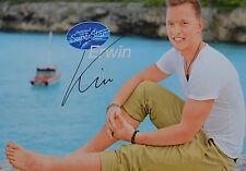 ERWIN KINTOP - Autogrammkarte - DSDS Autogramm Clippings Fan Sammlung