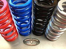 HONDA ATC 350X SHOWA SHOCK SPRING RE-POWDERCOATED BLUE RED BLACK SILVER
