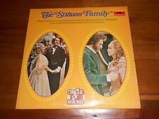 The Strauss Family ITC/ATV Series - Cyril Ornadel / LSO - Double Vinyl LP Album