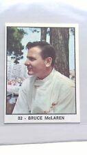 Rare - Bruce McLaren ROOKIE Panini Campioni Dello Sport 1966-67 - MINT Condition
