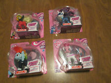 MY LITTLE PONY POWER PONIES LOT 4  Rarity Applejack Pinkie Pie Rainbow Dash