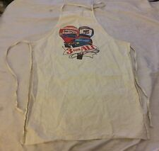 "Vtg 1980s Diet Pepsi Free Light Apron ""3 For All"" Hot Air Ballon VGUC"