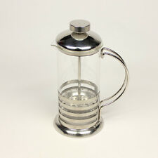 350ml Stainless Steel Glass Tea Coffee Cup Plunger Press Maker HJ112