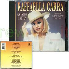 """RAFFAELLA CARRA' """"GRANDES EXITOS"""" RARO CD 1992 SPAGNA"""