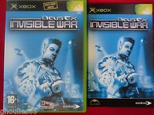DEUS EX INVISIBLE WAR XBOX DEUS EX INVISIBLE WAR XBOX XBOX 360