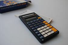 Texas Instruments TI-31 SOLAR - VINTAGE Calculator - Calculadora -  Calculatrice