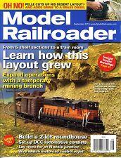 MODEL RAILROADER MAGAZINE SEPTEMBER  2011 VOL 78, NO 9 MODEL RAILROADING