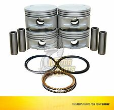 Piston & Ring Set Fits 00-03 Chevrolet Astra 1.8 L X18XE1 DOHC