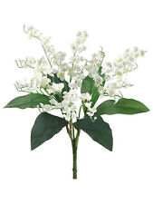 LILY of the VALLEY Bouquet Sprays Silk Wedding Flowers Centerpieces Bridal Decor