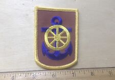 US Army 125th Transportation Brigade Embroidered Patch