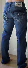 True Religion Camo Gray Straight Leg Jeans Men's Size 33