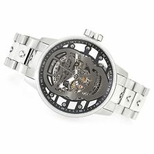 """NEW Invicta Men's 48mm S1 Rally """"Skull"""" Mechanical Skeletonized Dial Watch 22927"""
