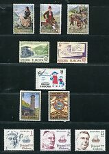 Spanish Andorra 1979 Complete Year Set NH Scott 108-10 111-12 113 114-15 116-18