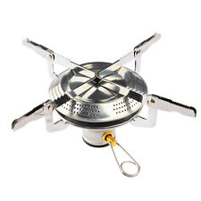 Mini Folding Stainless Steel Outdoor Camping Gas Butane Propane Stove Burner US