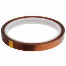 1 HEAT TRANSFER RESISTANT TAPE ADHESIVE 8mm x 33m POLYIMIDE for SUBLIMATION MUG