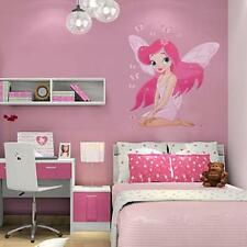 HOT Baby Girl Fairy Princess Butterly Decal Vinyl Bedroom Wall Stickers Decor 6L