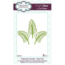 Craft Dies by Sue Wilson - Finishing Touches Collection - Fern Trio (CED1401)
