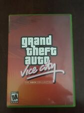 GRAND THEFT AUTO VICE CITY--COMPLETE with poster -FOR XBOX