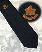 Canada - 'Canadian Rugby Union'  circa 1970s INTERNATIONAL PLAYERS TIE, 10cm