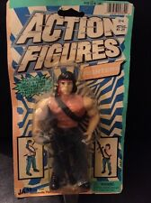 Bootleg rambo figure 1993 JA-RU Toys In Package See Pics