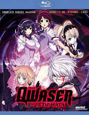 Qwaser of Stigmata: Complete Series Collection (Blu-ray Disc, 2015, 3-Disc Set)