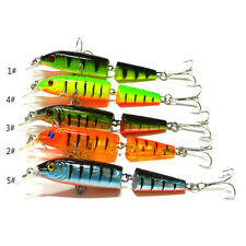 Multi-jointed Fishing Lures Spinner Crankbaits Hooks Baits Assorted Fish Tackle