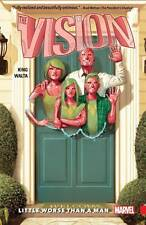 VISION VOL #1 LITTLE WORSE THAN A MAN TPB Marvel Comics Tom King Collects 1-6 TP