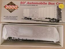 HO PROTO 2000 ERIE #65054 50' AUTOMOBILE BOX CAR W/ END DOORS KIT