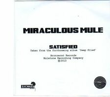(DW566) Miraculous Mule, Satisfied - 2013 DJ CD