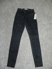 COOKIE JOHNSON JOY LEGGING BLACK MULTI WASH JEANS SIZE 25 INSEAM 31 WOMENS NWT