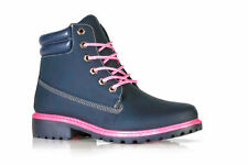 Womens Ankle Boots Casual Winter Lace up Ladies Walking Hiking Boot Shoes