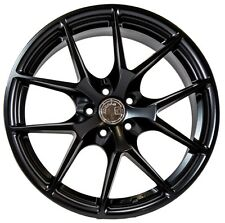 17X7.5 +35 AodHan LS007 5X120 Black Wheel Fit BMW 228 428 435 Z3 Z4 X1 X3 5X4.75