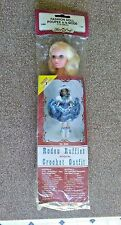 "Fibre Craft Fashion Doll 11"" Hair, blonde White Shoes #3066 New crochet pattern"