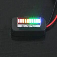 3-30V Adjustable Voltmeter Multicolor Led Display Panel Lithium Battery