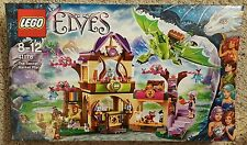 NEW IN BOX LEGO ELVES THE SECRET MARKET PLACE 41176 691 PIECES GREEN DRAGON