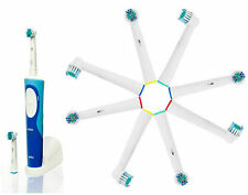 8 Braun Oral-B Vitality Compatible Toothbrush Heads.