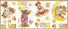 BOYDS BEARS & FRIENDS STICKERS NURSERY BABY ROOM WALL DECAL DECOR Made in USA