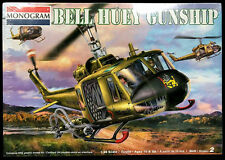 Sealed MONOGRAM Revell #85-4675 1/24 BELL UH-1 HUEY GUNSHIP Model Kit!