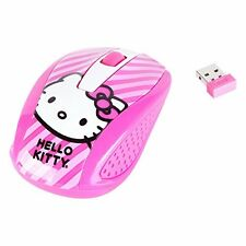 New Hello Kitty Wireless USB Mouse (Pink) 2.4 Ghz
