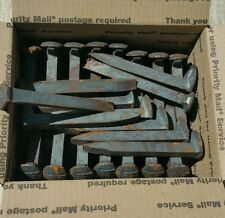 LOT OF 70 RAILROAD SPIKES CARBON STEEL, BLACKSMITH /CRAFTMAKING