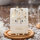 2015 Laser Cut Gold Castle Wedding Birthday Favour Boxes Bags Table Decoration