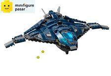 Lego Super Heroes 76051 - Captain America Civil War Airport Battle - Quinjet New